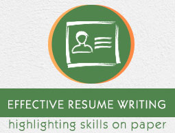 Effective Resume Writing  Writing An Effective Resume
