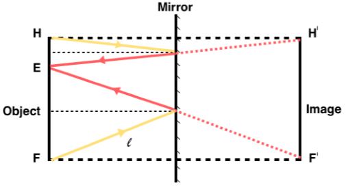 Reflection Cases With Plain Mirror