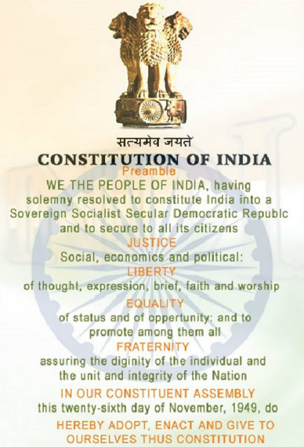 Indian Polity Guiding Values of the Constitution