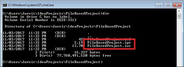 File-based Project Format