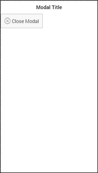 Ionic - Javascript Modal