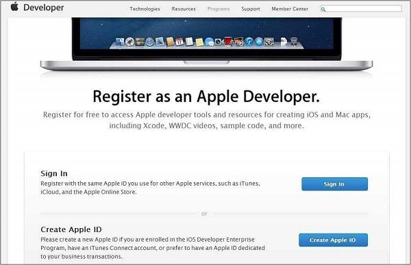 Бесплатная регистрация iOS
