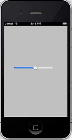 iOS Sliders