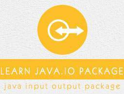 Java.io Package Tutorial