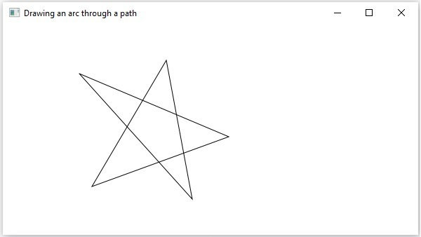 Drawing Arc through Path