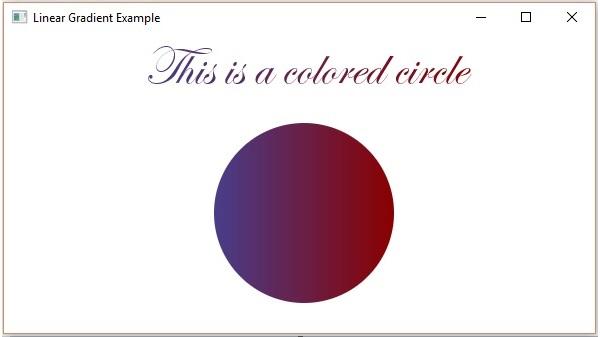 تعلم JavaFx ..مقال34_ التعامل مع الالوان JavaFX - Colors Linear_gradient