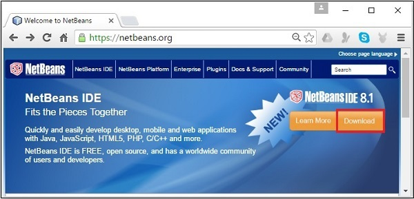 NetBeans Website
