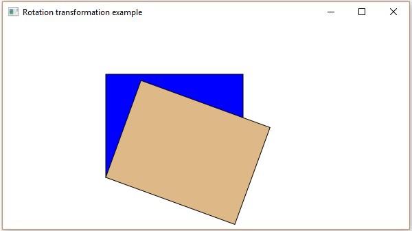 Drawing Lines Javafx : Javafx rotation transformation