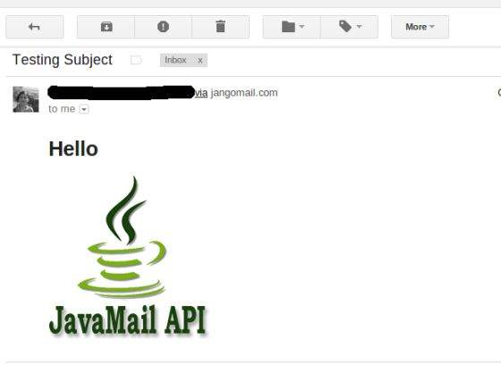 JavaMail API Send Email With Inline Images