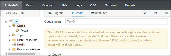 JBoss Fuse - Apache AMQ - Tutorialspoint