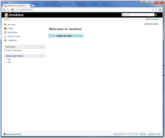 Accessing Jenkins
