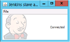 Jenkins Slave Window Connected
