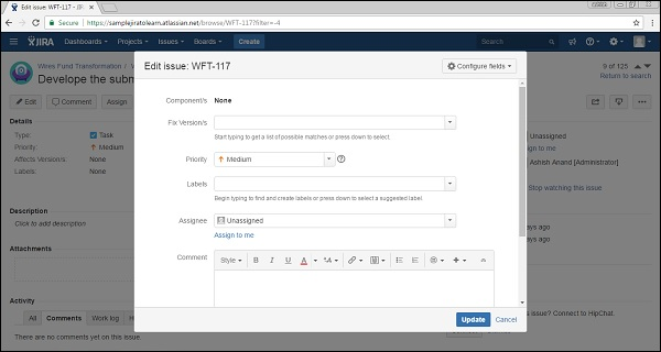 JIRA - Quick Guide - Tutorialspoint