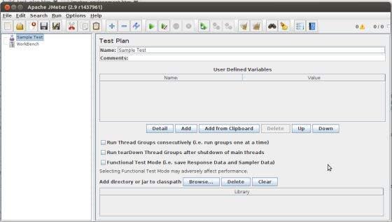 Jmeter Web Test Plan