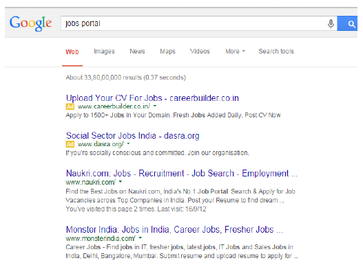 job search skills where to search