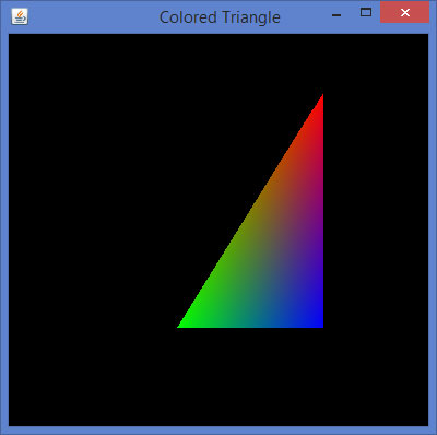 Triangle Color