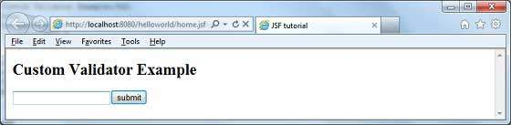 How to write custom tag in jsf