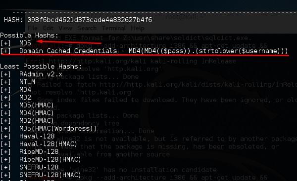 Hash Identifier