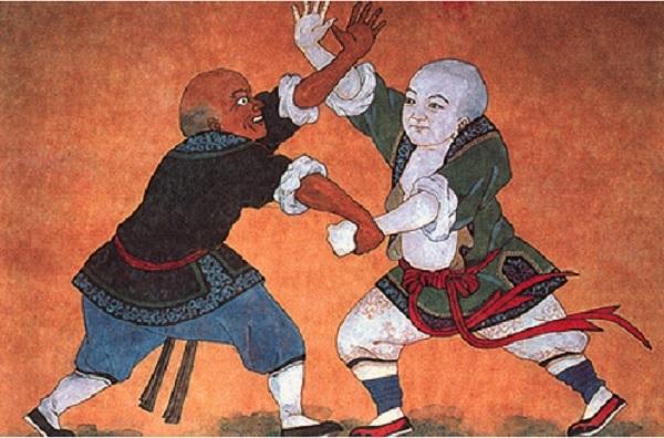 Chinese art Kung fu