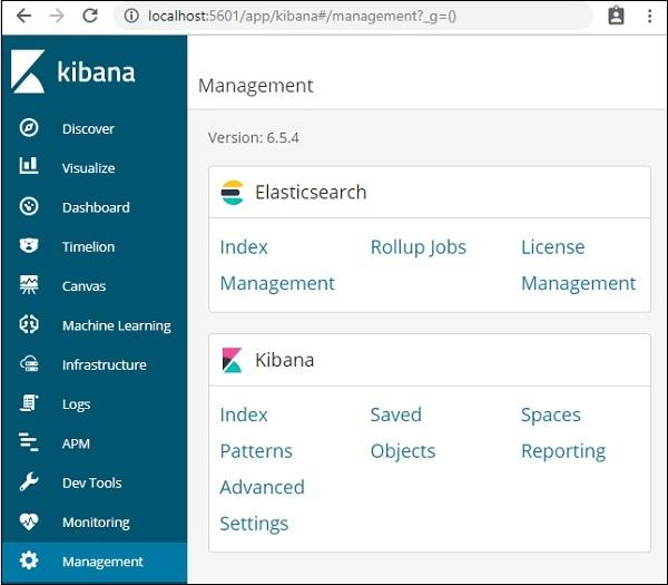 Kibana - Quick Guide - Tutorialspoint