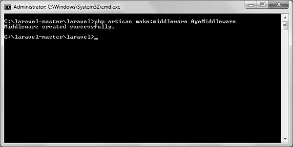 Laravel - Middleware - Tutorialspoint