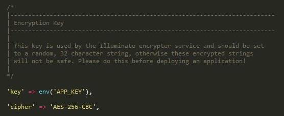 Laravel - Encryption