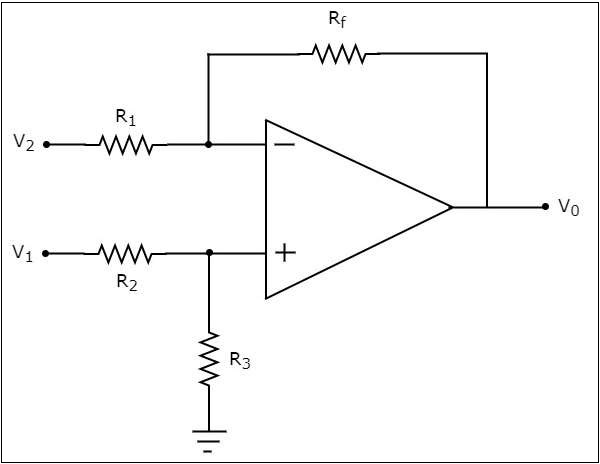 opamp adder and subtractor circuits