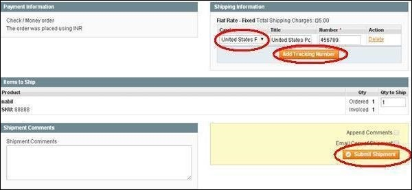 Magento Setup Order Options