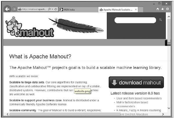 Downloading Mahout
