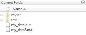 Current Folder