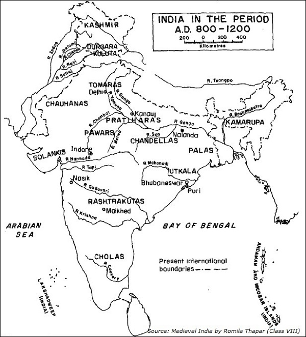 Northern India Kingdoms