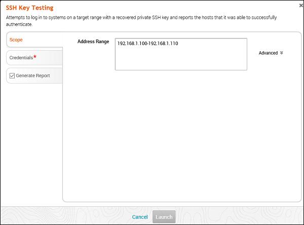SSH Key Testing