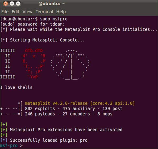 Metasploit - Pro Console - Tutorialspoint