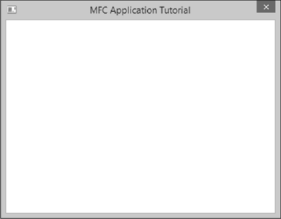 Created Application Window