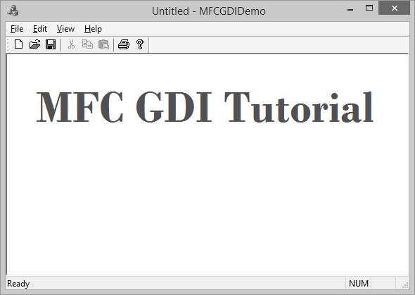 MFC - GDI - Tutorialspoint