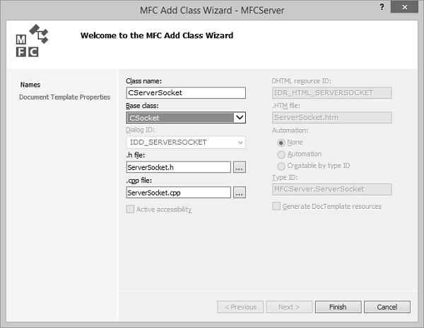 MFC - Internet Programming - Tutorialspoint