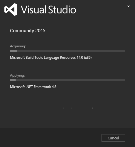 Visual Studio Installation