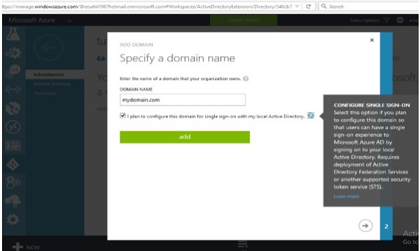 Mapping a Custom Domain