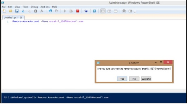 Microsoft Azure - PowerShell - Tutorialspoint