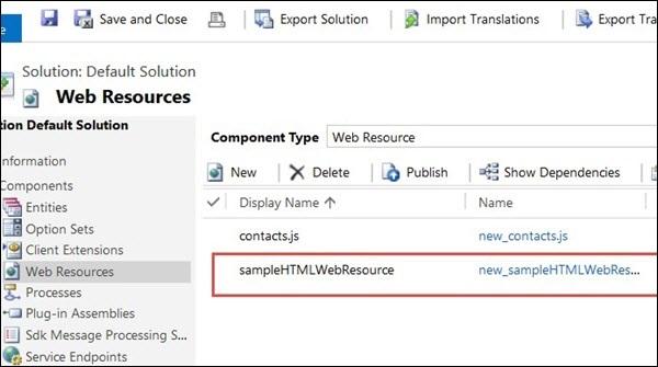 HTML Web Resources - Tutorialspoint