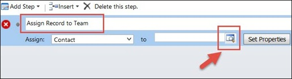 Mscrm Create Workflow Step 5