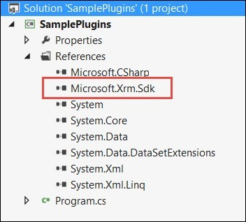 Mscrm Plugin Add Solution Reference