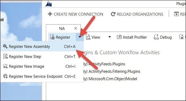 Mscrm Plugin Registration Assembly