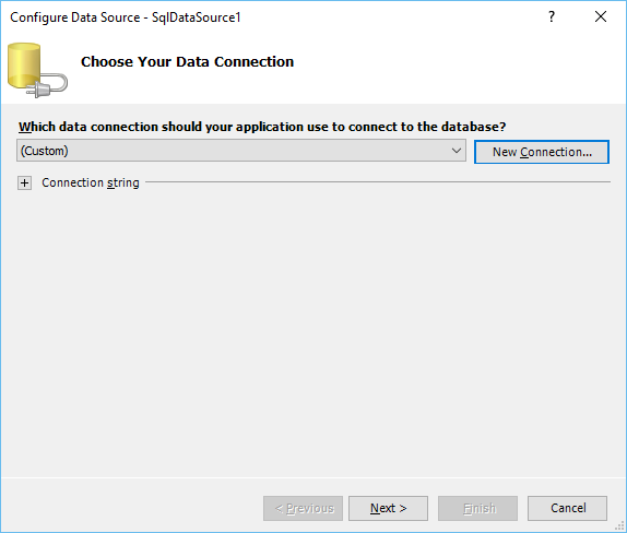 Configure Datasource