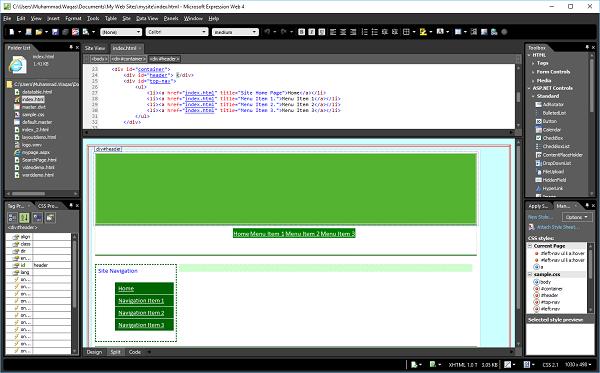 microsoft expression web - publish