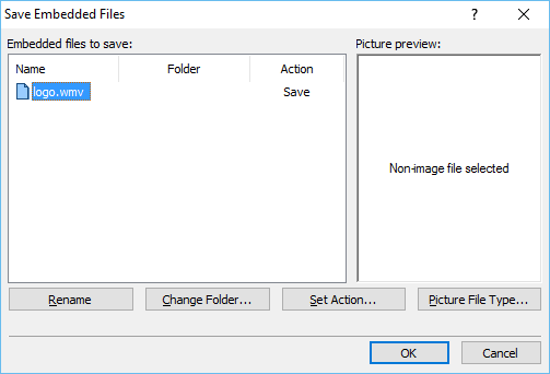 Save Embedded Files