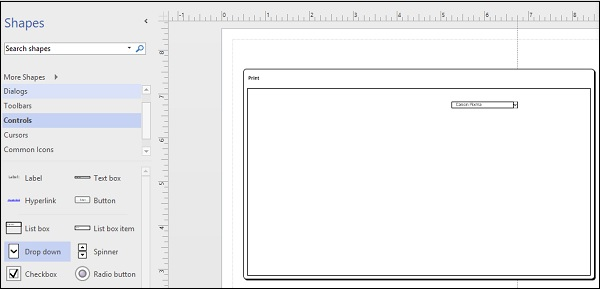 Adding Elements and Controls to Wireframes - Tutorialspoint