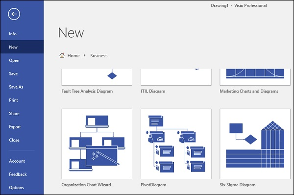 Microsoft Visio - Using the Org Chart Wizard - Tutorialspoint