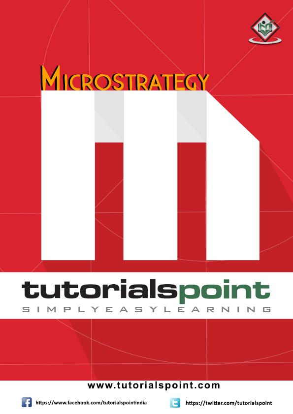 Microstrategy Tutorial In Pdf