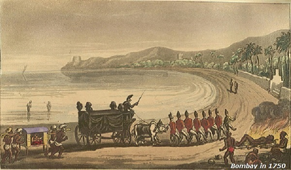 Bombay in 1750